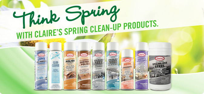Claire Spring Products