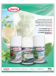 Claire Mint Metered Air Fresheners