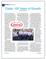 Claire 100 Article