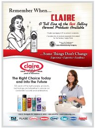 Claire Vintage/New Sanitary Maintenance Ad