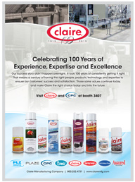 Claire Sanitary Maintenance Ad