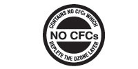No CFCs Logo